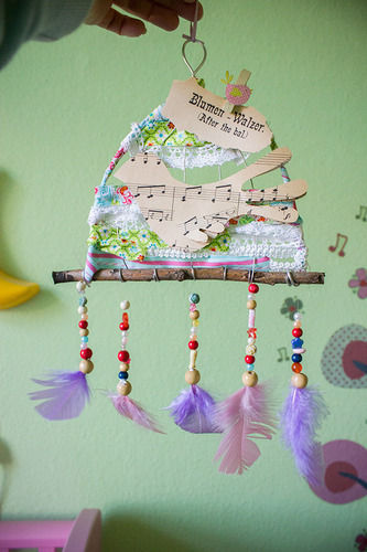 Makerist - Traumfänger mit Vögelchen - DIY-Projekte - 1