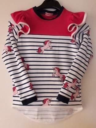 Kinder-Shirt mit Flügelärmel