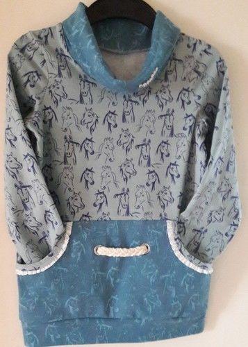 Makerist - Shirt mit Stehkragen und Bauchtasche für Othelia - Nähprojekte - 1