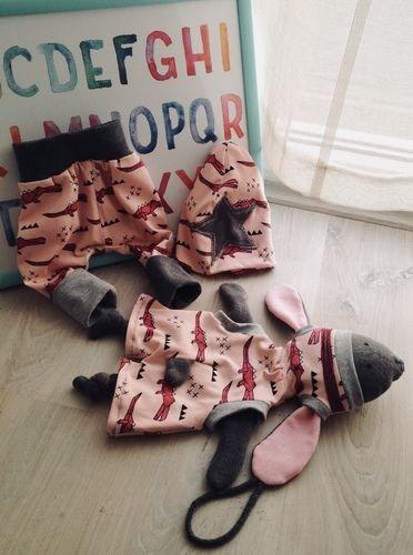 Makerist - Geburtsgeschenk - Hoodiehase, Beanie & Pumphose - Nähprojekte - 2