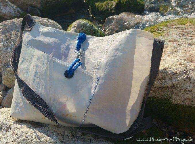 Makerist - Freebie: Tasche aus Segeltuch. Mit gratis Schnittmuster - Nähprojekte - 1