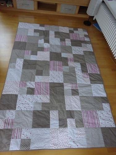 Makerist - Meine erste Patchwork-Decke!  - Nähprojekte - 1
