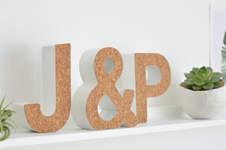 Makerist - DIY-Typo mit selbstklebendem Korkstoff - 1