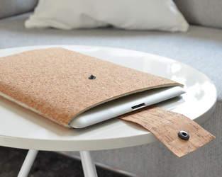 Safe in cork – Korkstoff-Tablet-Hülle