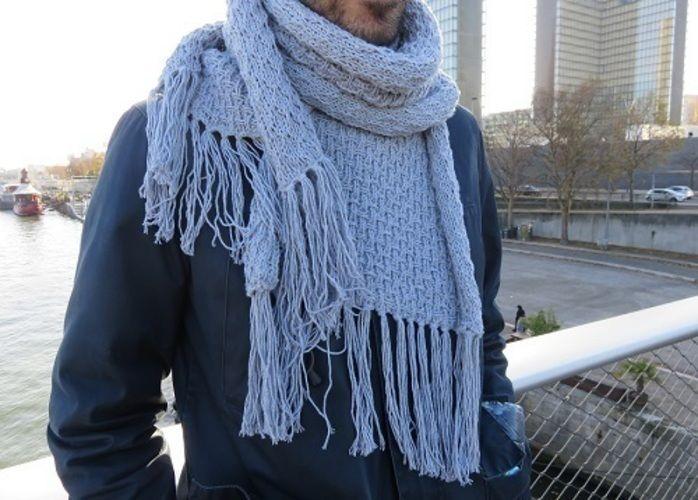 Makerist - L'écharpe Groundhog - Créations de tricot - 2