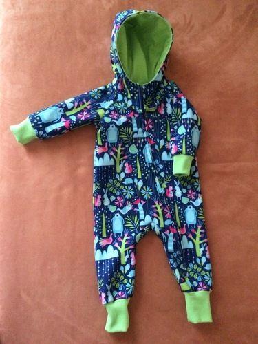 Makerist - Babyoverall aus Softshell für meinen Urenkel Jules - Nähprojekte - 1