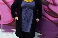 Makerist - Oversizeliebe von Jojolino als Kleid für die curvy Lady - Schnürpelinchen - 1