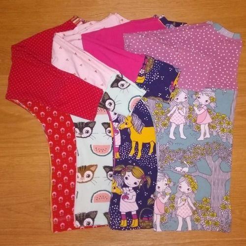 Makerist - Fledermausshirt MADITA für Mädchen - Nähprojekte - 1