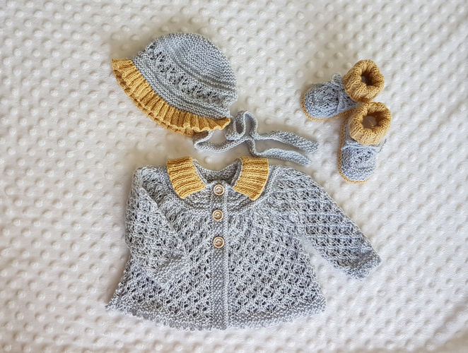 Makerist - Angel Lace Baby Layette  0 - 12 months - Knitting Showcase - 1