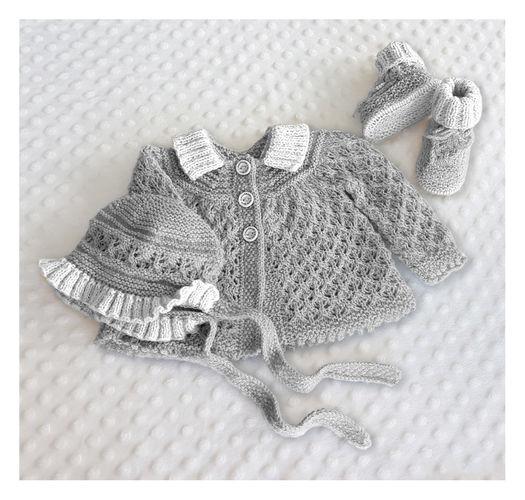 Makerist - Angel Lace Baby Layette  0 - 12 months - Knitting Showcase - 3