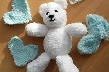 Makerist - Little blue heart Teddy  - 1