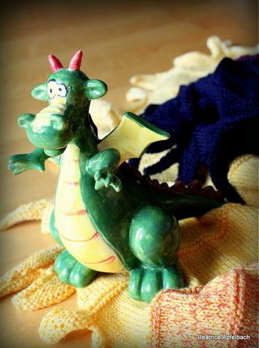Makerist - Tuch Eragon alias Drachenfeuer - Strickprojekte - 3