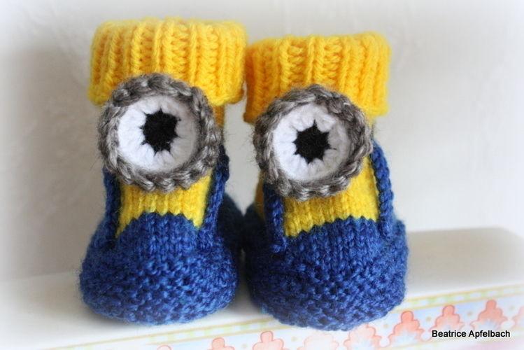Makerist - Babybooties  - Strickprojekte - 1