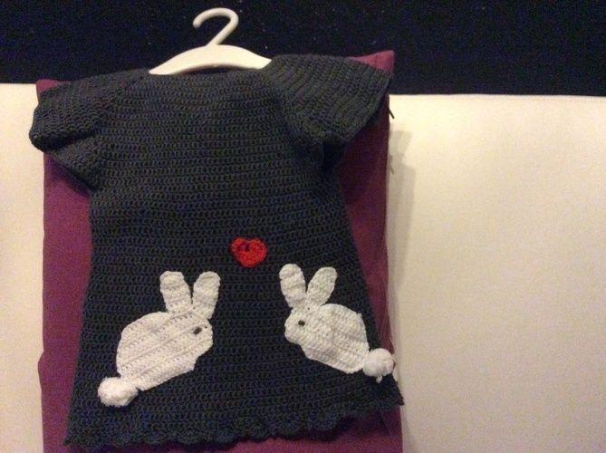 Makerist - DIWL Verliebte Hasen für meine kleine Prinzessin - Häkelprojekte - 1