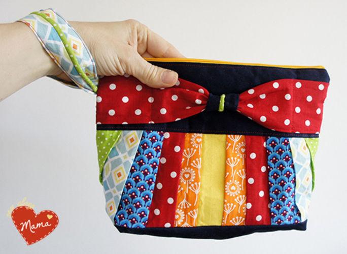 Makerist - Clutch zum Muttertag - Nähprojekte - 1