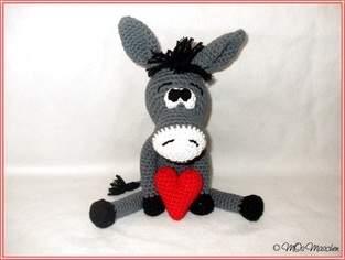 Makerist - Eddy, der verliebte Esel - 1