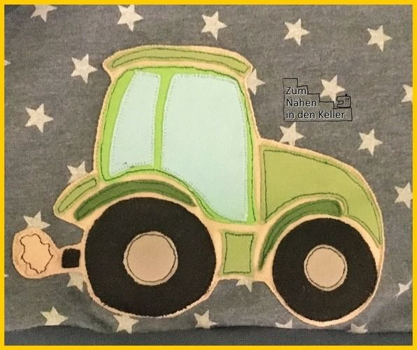 """Makerist - """"Zauberpullover"""" mit Traktor - Nähprojekte - 3"""