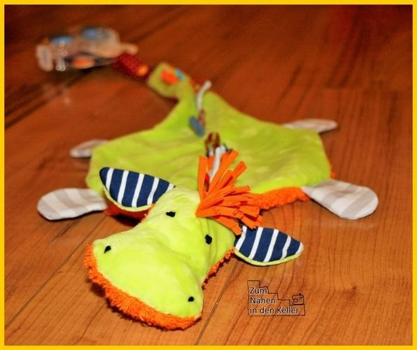 Makerist - Schnullerdrache für den Babyneffen - Nähprojekte - 1