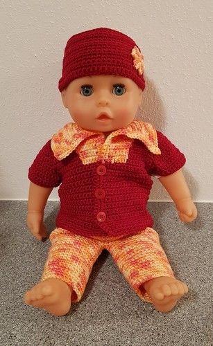 Makerist - Sommerdress für Puppe 35 - 38 cm - Häkelprojekte - 1