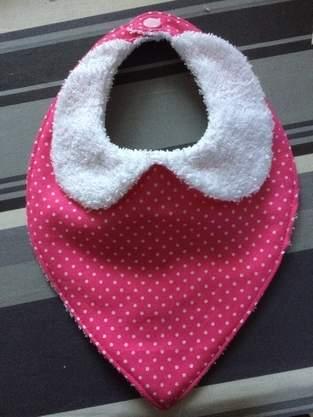 Makerist - Bavoir bandana - 1