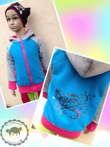 Makerist - Sweatjacke für unser Töchterchen - DIY-Projekte - 1
