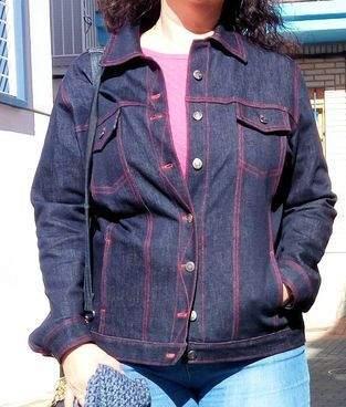 Jeansjacke aus Mia Führers Kurs