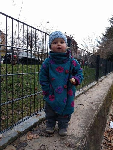 Makerist - Walkmäntelchen für kalte Tage - Nähprojekte - 1