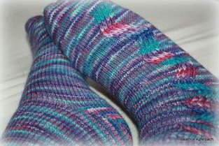 Makerist - Kuschelige Socken mit Hebemaschen - 1