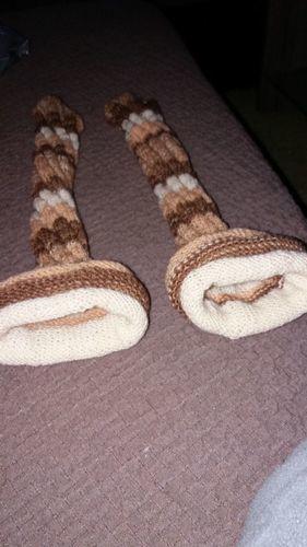 Makerist - Damensocken aus Resten von meiner Schwester gemacht - Strickprojekte - 1