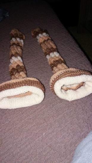 Makerist - Damensocken aus Resten von meiner Schwester gemacht - 1