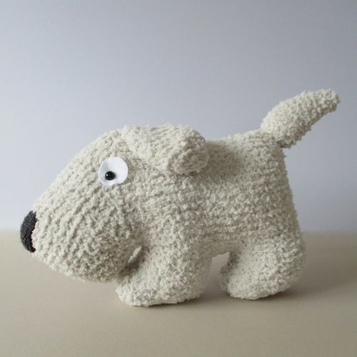 Makerist - Dog Cushion - Knitting Showcase - 1
