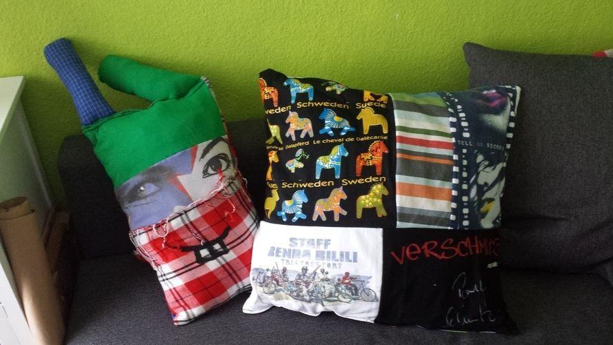 Makerist - aus alt mach neu- (zu) kleine lieblingsshirts kommen groß raus! - DIY-Projekte - 2