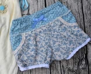 Makerist - Vintage Shorty aus Baumwolle - 1