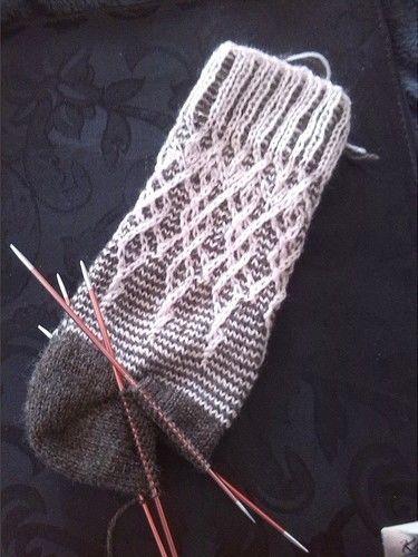 "Makerist - Socke ""Florista"" - Strickprojekte - 2"