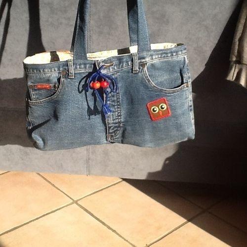 Makerist - Sac en jean  - Créations de couture - 1