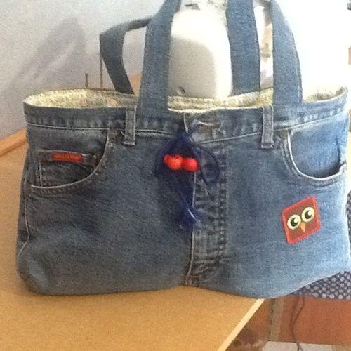 Makerist - Sac en jean  - Créations de couture - 2