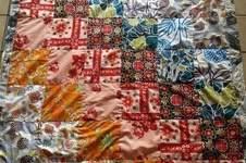 Makerist - selbstgenähte patchworkdecke - 1
