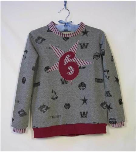 Makerist - Sweatshirt zum Geburtstag - Nähprojekte - 1