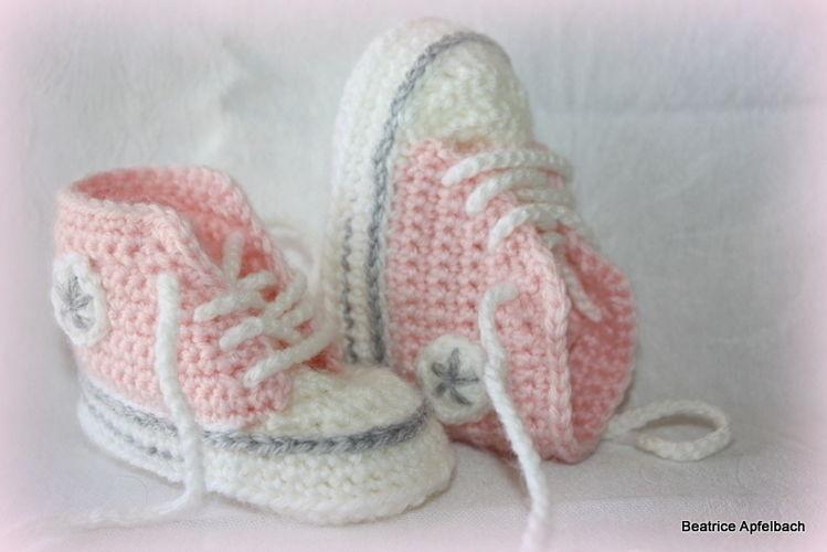 Makerist - Booties im Sneakerstyle - Häkelprojekte - 1