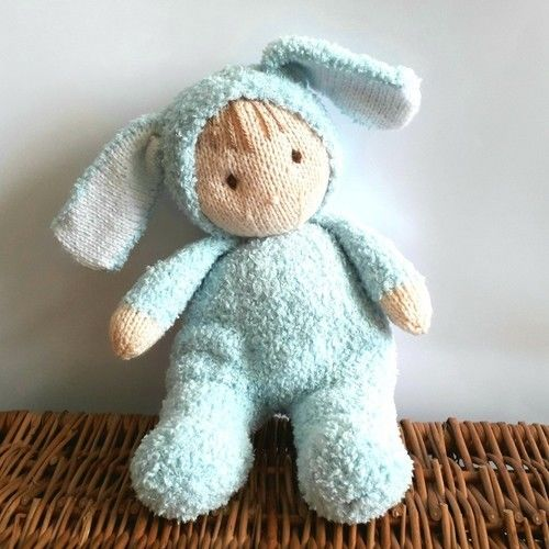 Makerist - Bunny Jo-Jo doll - Knitting Showcase - 1
