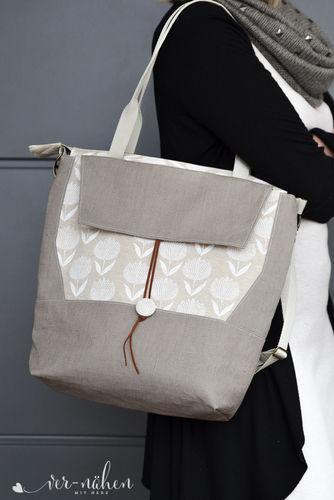 Makerist - Tasche Mathea von Zaubernahnna - Nähprojekte - 2