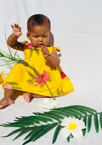 Makerist - Yellow Hawaiian dress - Sewing Showcase - 1