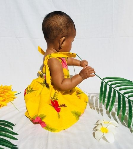 Makerist - Yellow Hawaiian dress - Sewing Showcase - 2