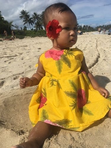 Makerist - Yellow Hawaiian dress - Sewing Showcase - 3