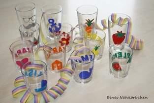 Gläser für die Faschingsparty