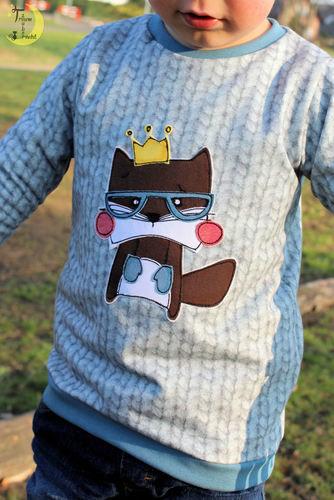 Makerist - Fred auf einem Bogi-Shirt - Nähprojekte - 1