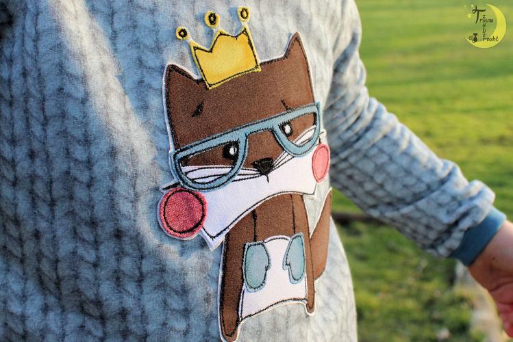 Makerist - Fred auf einem Bogi-Shirt - Nähprojekte - 2