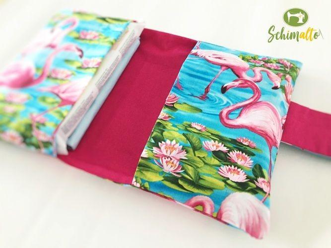 Makerist - Windeltasche im Flamingo-Look - Nähprojekte - 2