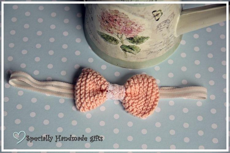 Makerist - *Haarschleife für groß und klein* - Strickprojekte - 2