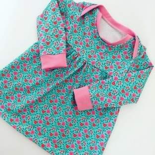 Fröhliches Baby Basic Dress für Prinzessinen